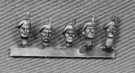 British Fusilier Heads with Hackles (BRIT10)