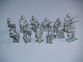 Dutch Army  Infantry squad with Lewis LMG