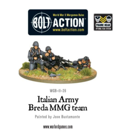 Italian Army Breda MMG (all heads)