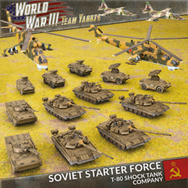 Soviet Starter Force: T-80 Shock Battalion