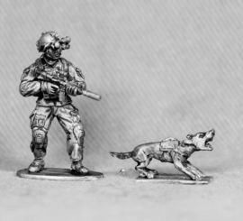 SAS Infantry with Dog (SAS9)
