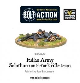 Italian Army Solothurn anti-tank rifle team