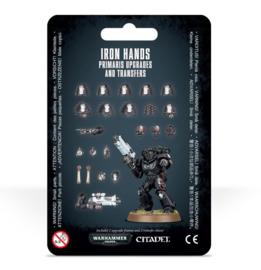 Iron Hands Primaris Upgrades and Transfers