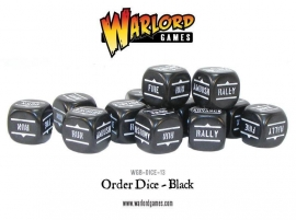 Order Dice - Black