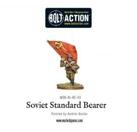 Soviet standard bearer