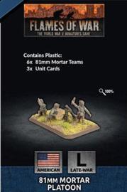 81mm Mortar Platoon (Plastic)