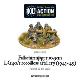 Fallschirmjager 10.5cm LG40-1 recoilless artillery (1943-45)