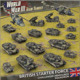 British Starter Force: Challenger Armoured Squadron
