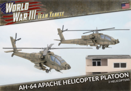 PRE ORDER: AH-64 Apache Helicopter Platoon (Plastic)