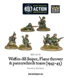 Waffen-SS Sniper, Flamethrower and Panzerschreck teams (1943-45)