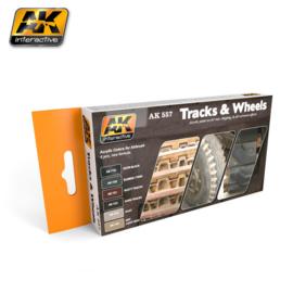 Track and Wheels Acrylic Set