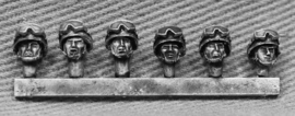 Russian Heads with Goggles on Helmets (RUS06)