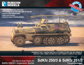 SdKfz 250/3 and 251/3 (upgrade kit)