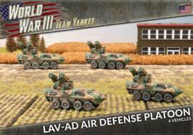 PRE ORDER: LAV-AD Air Defense Platoon (Plastic)