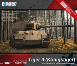 Pre-order: King Tiger with Zimmerit