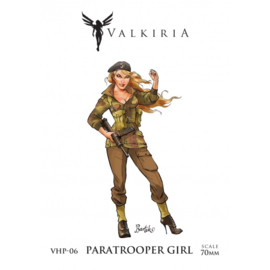 Paratrooper girl