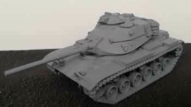 M60A3 MBT - 1/56 Scale