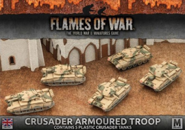 Crusader Armoured Troop (Plastic)
