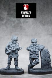 British Airborne – Lt. Col. John Frost & Major Carlyle