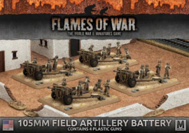 105mm Field Artillery Battery (Plastic)