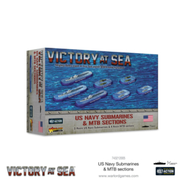 Pre-order: US Navy Submarines & MTB sections