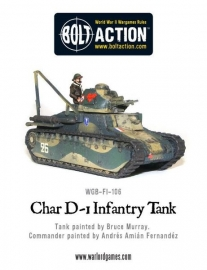 Renault D-1, Infantry tank