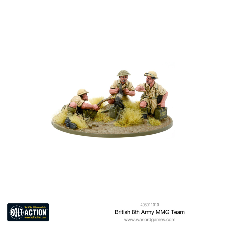 8th Army MMG Team