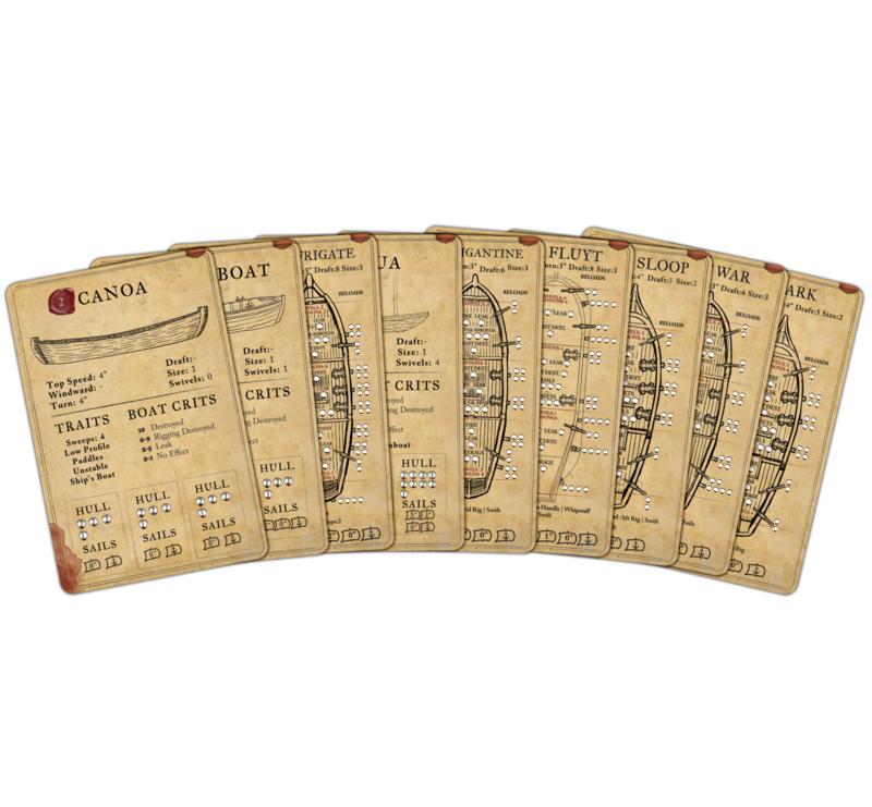 Alternate Ship Cards