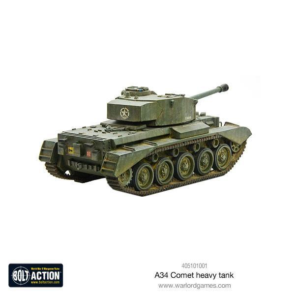 A34 Comet heavy tank