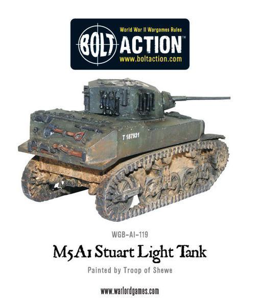 M5A1 Stuart light tank Box Set