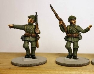Dutch Army 1940 NCO's