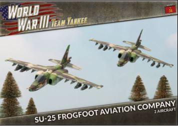 SU-25 Frogfoot Aviation Company (Plastic)