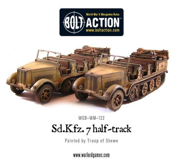 Sd.Kfz 7 Half track
