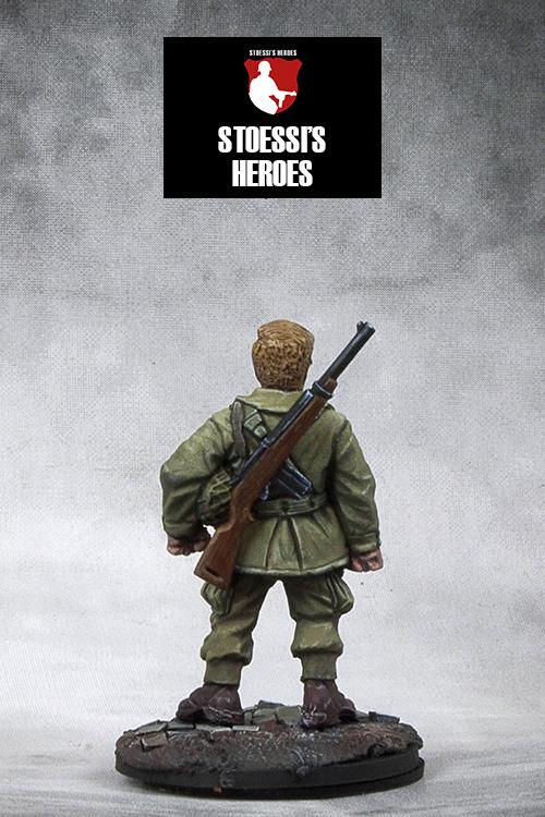 "US Airborne Captain – Richard ""Dick"" Winters"