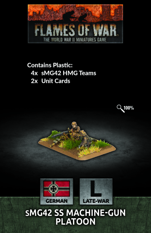 sMG42 SS Machine-gun Platoon