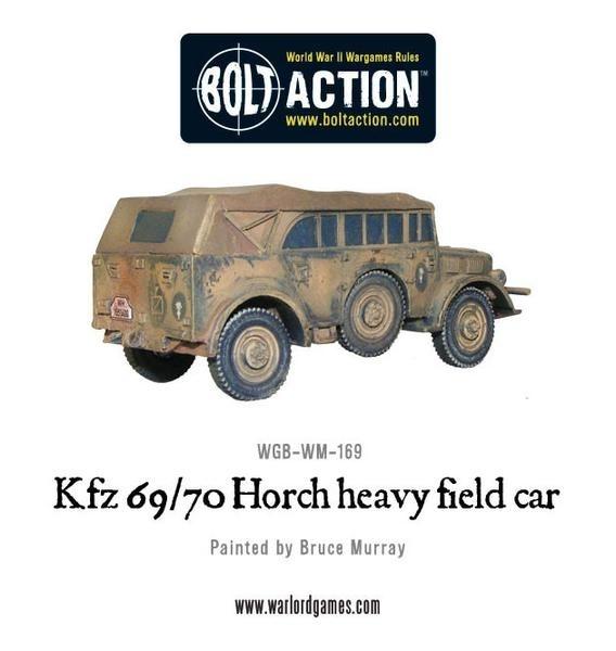 Kfz 69/70 Horch heavy field car