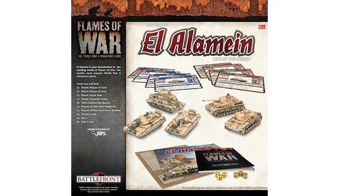 Battle of El Alamein: War in the Desert (Plastic)