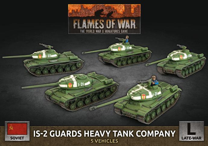 IS-2 Guards Heavy Tank Company (Plastic)