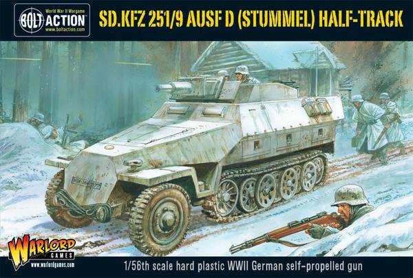 Sd.Kfz 251/9 Ausf D (Stummel) half-track