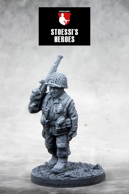 "US Airborne Staff Sergeant – Denver ""Bull"" Randleman"