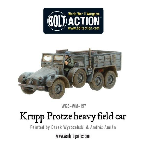Krupp Protze heavy field car