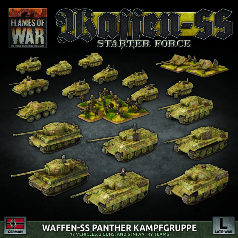 """PRE ORDER: German LW """"SS Panther Kampgruppe"""" Army Deal"""