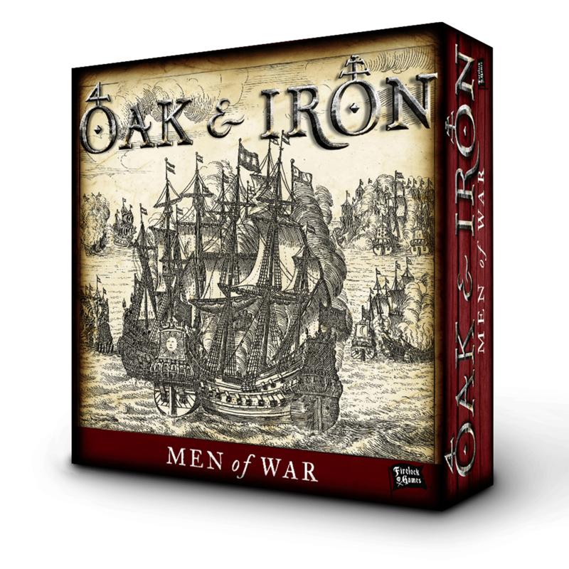 PRE ORDER: Oak & Iron Men of War