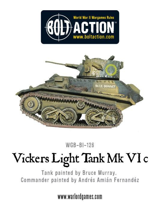 Vickers Light Tank Mk VIC