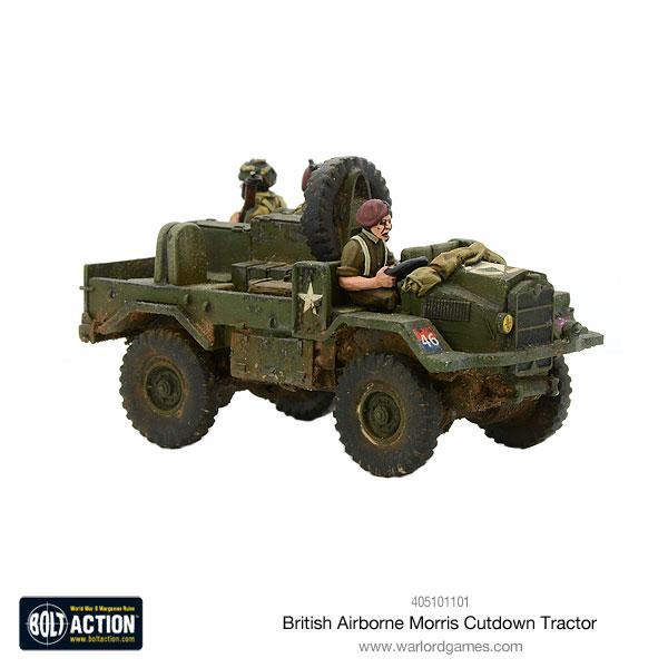 British Airborne Cut Down Moris