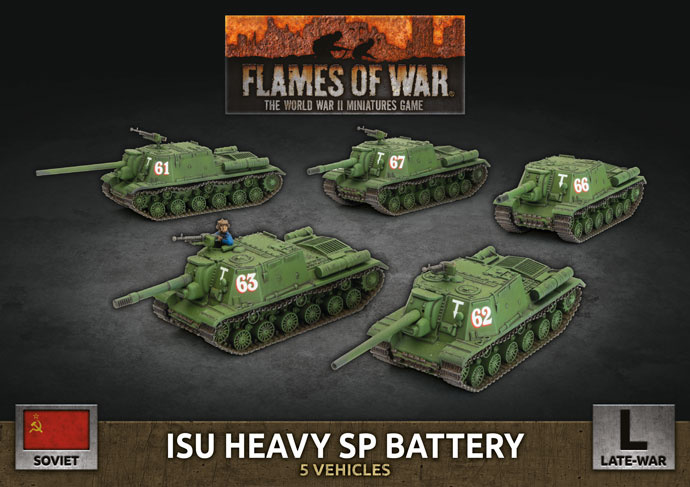 ISU Heavy SP Battery (Plastic)