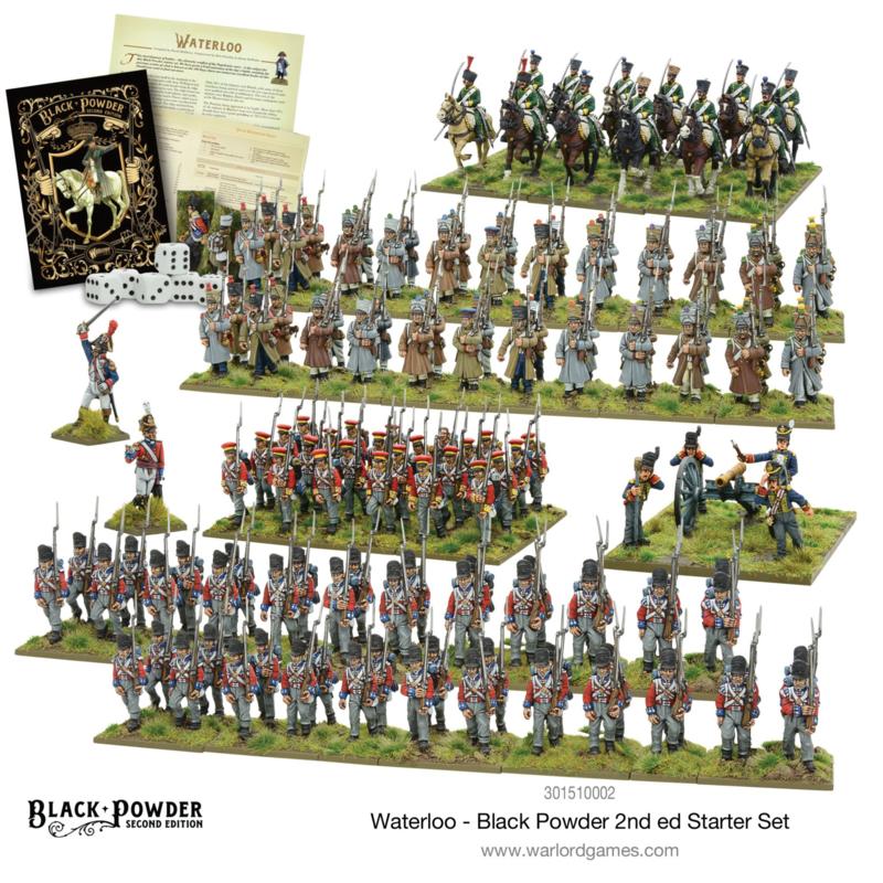Waterloo - Black Powder 2nd edition Starter Set