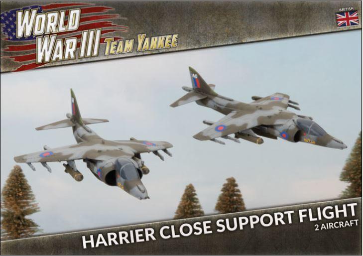 Harrier Close Air Support Flight (Plastic)