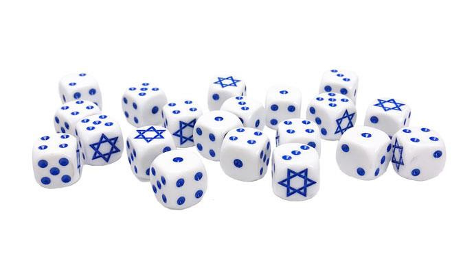 Israeli Dice Set