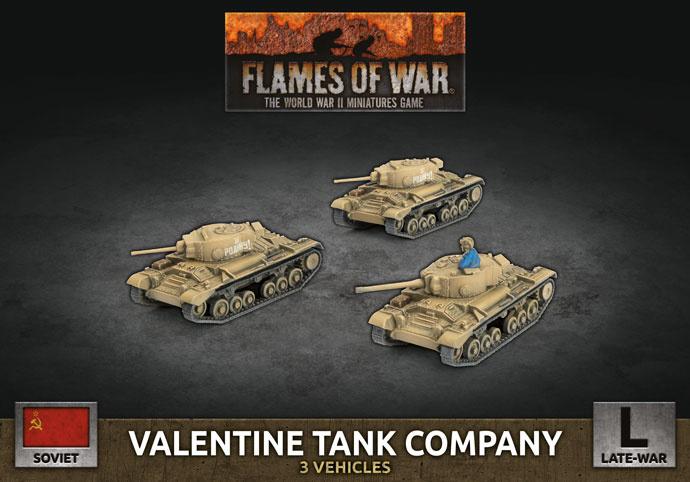 Valentine Tank Company (Plastic)